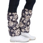 Краги для обуви фиолетовые